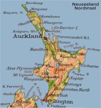 Nordinsel Neuseeland Reisebericht